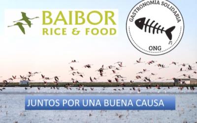 Baibor Rice& Food con Gastronomia Solidaria