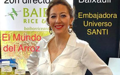 Luis Pacheco entrevista en directo a la Gerente de Baibor Rice&Food en Instagram
