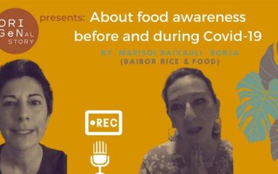 Origenal story entrevista a María Sol Baixauli Borja sobre la situación agroalimentaria antes y durante el Covid-19